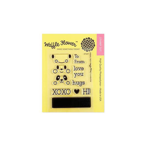 Animal Tags Stamp Set