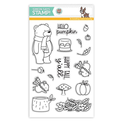 HELLO PUMPKIN Stamps