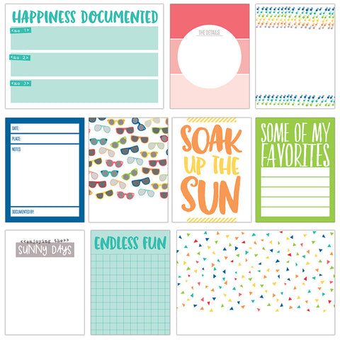 Sunny Days - Journaling Tags