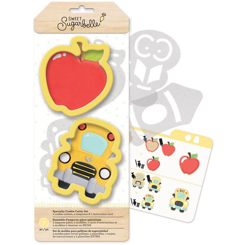 Sweet Sugarbelle Specialty Cookie Cutter Set 7/Pkg - Back To School