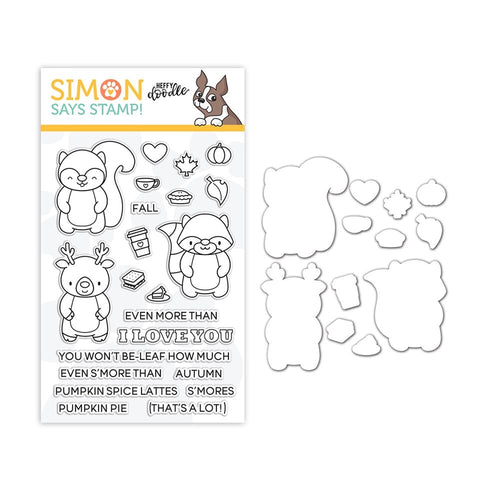 Heffy Doodle Clear Stamp and Die Set MORE THAN S'MORES