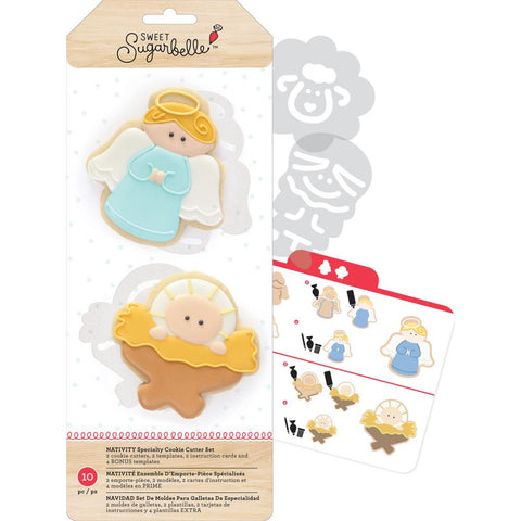 Sweet Sugarbelle Cookie Cutters - Nativity