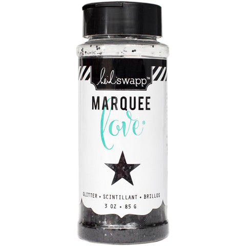 Heidi Swapp Marquee Love Chunky Glitter 3 Ounces/Jar - Black