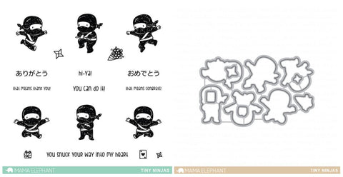 TINY NINJAS Stamp and Die
