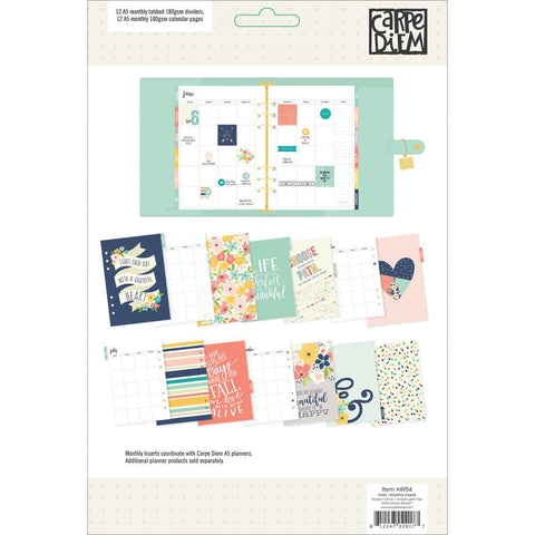Posh Monthly Double-Sided Inserts A5