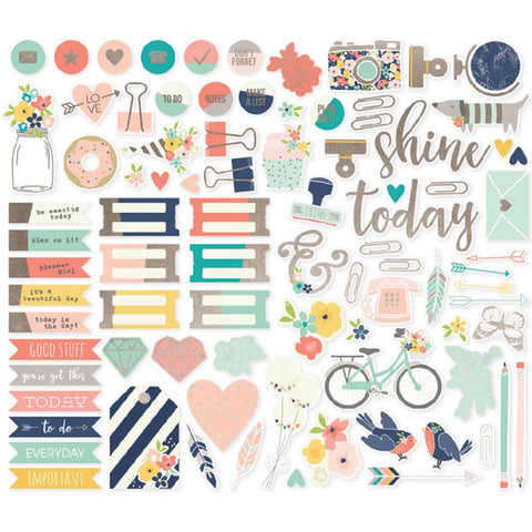 Posh Bits & Pieces Die-Cuts 86/Pkg