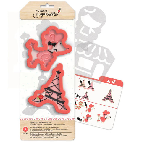 Sweet Sugarbelle Specialty Cookie Cutter Set 7/Pkg - OohLaLa