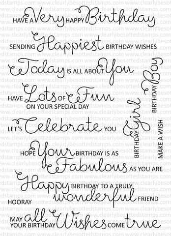 Scrumptious Birthday Sentiments