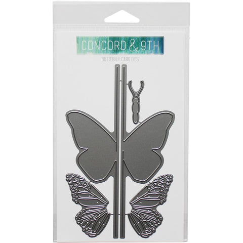 BUTTERFLY CARD DIES