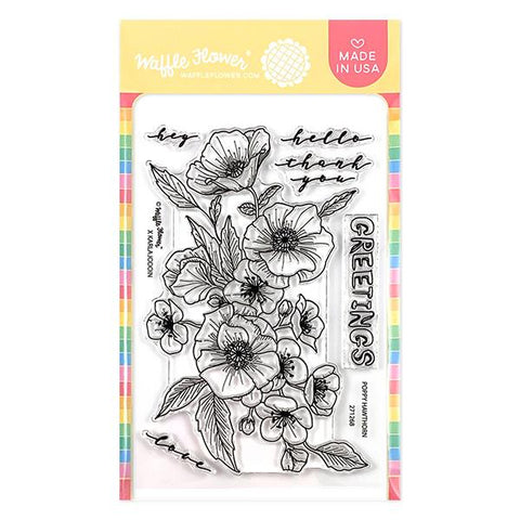 Poppy Hawthorn Stamp Set