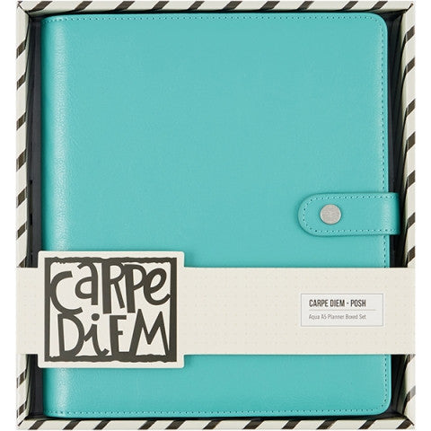 POSH AQUA A5 PLANNER BOXED SET
