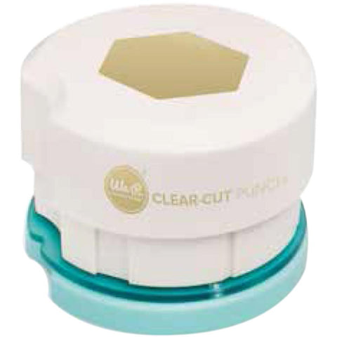 "We R Clear Cut Punch 2"" - Hexagon"