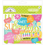 Doodlebug Odds & Ends Die-Cuts 92/Pkg - Sweet Summer