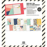 POSH CORAL A5 PLANNER BOXED SET