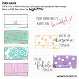 Purse-nality Stamp Set