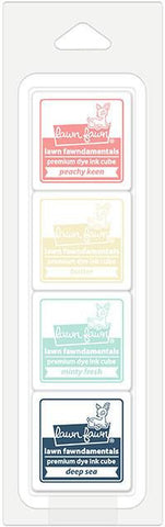 ice cream parlor ink cube pack