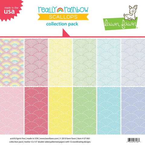 really rainbow scallops collection pack