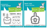 caramel apple stamp and die