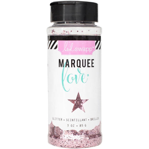 Heidi Swapp Marquee Love Chunky Glitter 3 Ounces/Jar - Light Pink