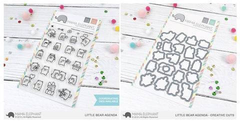 LITTLE BEAR AGENDA stamp and die