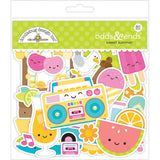 Doodlebug Odds & Ends Die-Cuts 80/Pkg - Sweet Summer