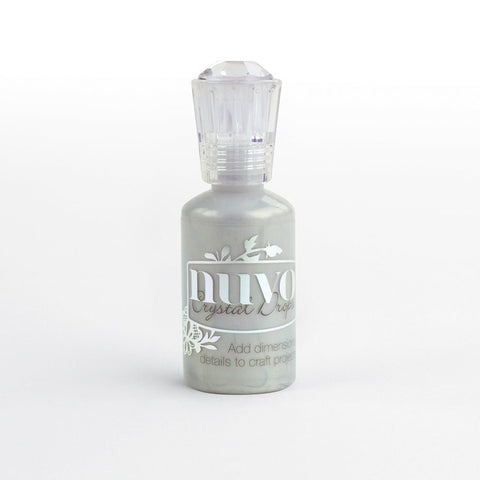 NUVO CRYSTAL DROPS COLLECTION – METALLIC SILVER LINING – 655N