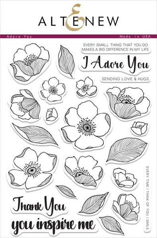 Adore You Stamp Set