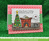 christmas dreams stamp and die