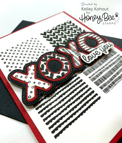 XOXO | 3x4 Stamp Set