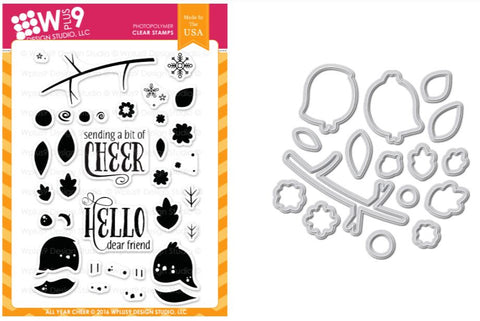 All Year Cheer Stamp and Die Set
