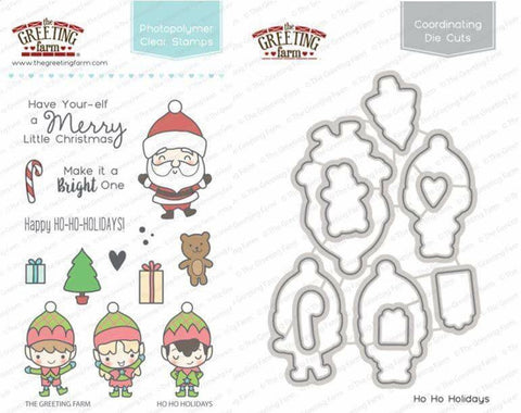 ho ho holidays - Stamp and Die Set