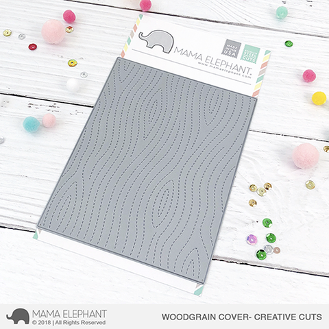 WOODGRAIN COVER - CREATIVE CUTS