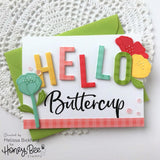 Chin Up Buttercup | 4x6 Stamp Set