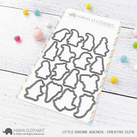 LITTLE GNOME AGENDA - CREATIVE CUTS