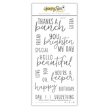 Thanks A Bunch | 4x8 Stamp Set