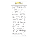 Awesome Sauce | 4x8 Stamp Set