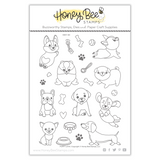 Puppy Love | 6x8 Stamp Set