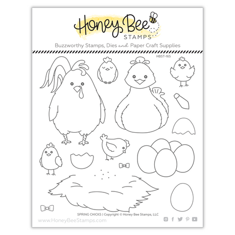 Spring Chicks | 6x6 Stamp Set