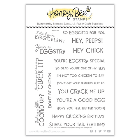 EGGcelent Sentiments | 6x8 Stamp