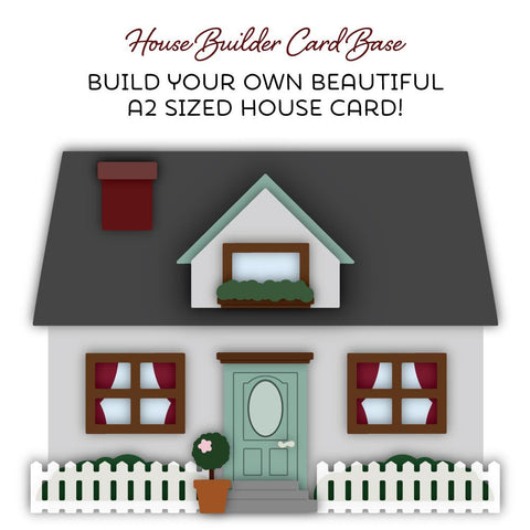House Builder Card Base | Honey Cuts