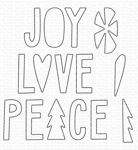 Die-namics Joy, Love, and Peace WS