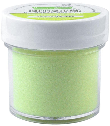 glow-in-the-dark embossing powder