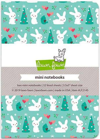 snow day remix - mini notebooks