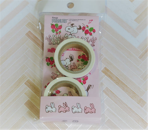 Snoopy Washi Tape - Strewberry Theme