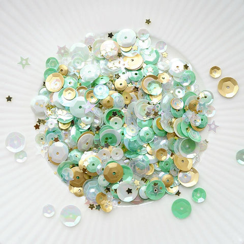 Mint Gold Sparkly Shaker Selection