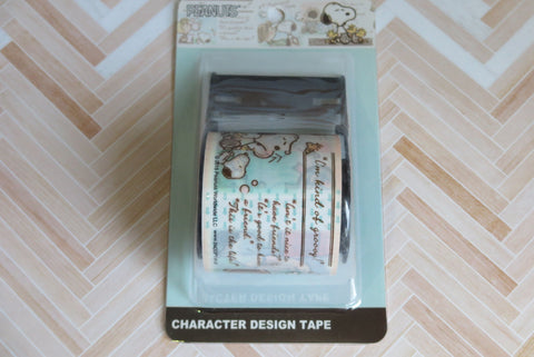 Snoopy Washi Tape - Peanut Story