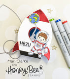 Rocket Ship Card Base | Honey Cuts