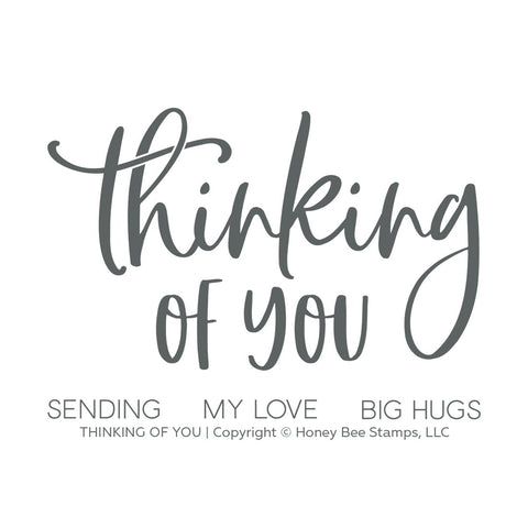 Thinking Of You | 3x4 Stamp Set