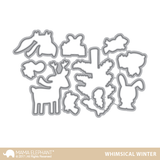 WHIMSICAL WINTER stamp and die
