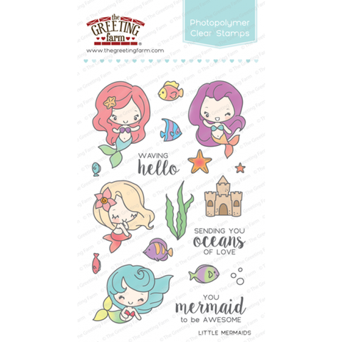 little mermaids - clear